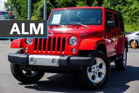Pre-Owned 2014 Jeep Wrangler Unlimited Sahara With Navigation & 4WD