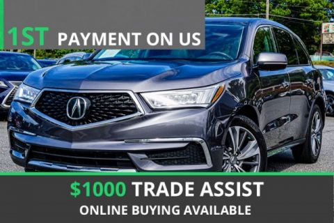 Pre-Owned 2017 Acura MDX w/Technology Pkg With Navigation & AWD