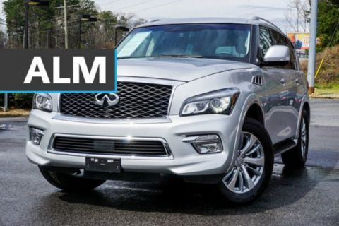 Pre-Owned 2017 INFINITI QX80 Base RWD Sport Utility